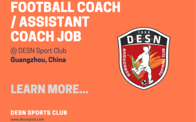 DESN Sport Club is looking for a Football Coach / Assistant Coach